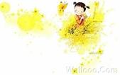 韓國 插畫(女孩:韩国插画名家:Webjong 甜美女孩插画(三):花仙子 - Webjong可爱小女孩插画vhg
