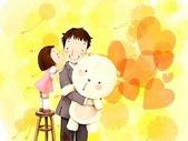 矢量-快樂童年、父親節:父亲节主题韩国插画壁纸