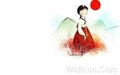 韓國 插畫(女孩:韩国插画名家:Webjong 甜美女孩插画(三):花仙子 - Webjong可爱小女孩插画er