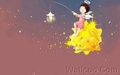 韓國 插畫(女孩:韩国插画名家:Webjong 甜美女孩插画(三):花仙子 - Webjong可爱小女孩插画tm
