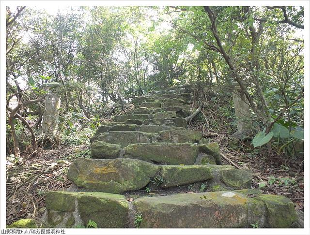 猴洞神社 (5).JPG - 猴洞神社鐘萼木