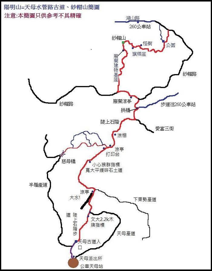 天母水管古道、紗帽山 :天母古道 (32).jpg