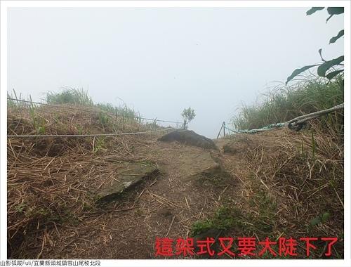 雪山尾稜北段 (53).JPG - 雪山尾稜北段