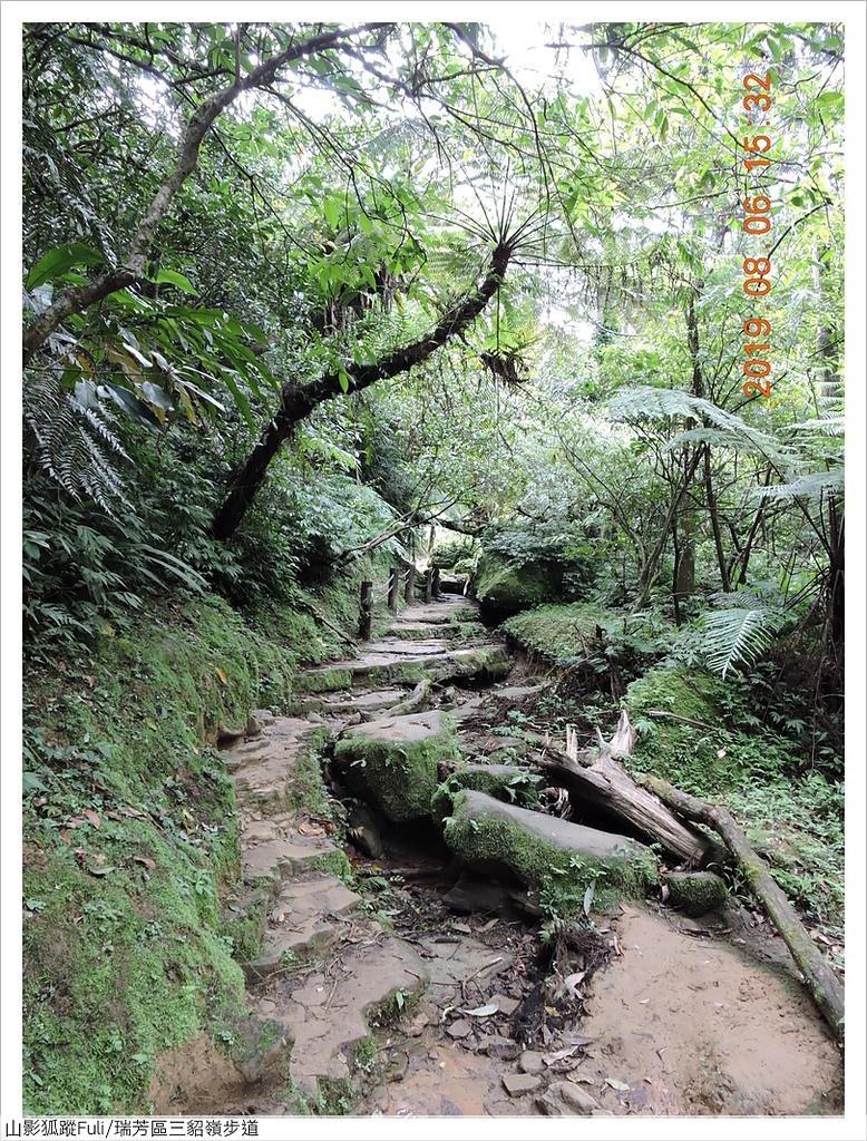 三貂嶺古道 (24).JPG - 三層瀑布