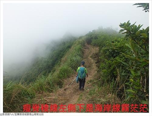 雪山尾稜北段 (34).JPG - 雪山尾稜北段