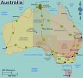 遠走高飛:Australia regions map.png