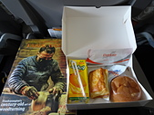 遠走高飛:不丹皇家航空機餐.JPG