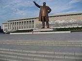 謎樣國度:北韓(朝鮮DPRK):萬壽台大紀念碑(金日成主席銅像).jpg