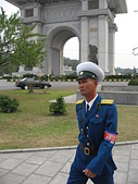 謎樣國度:北韓(朝鮮DPRK):平壤男交警.jpg