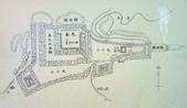 遠走高飛:本丸跡にある縄張図