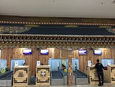 遠走高飛:不丹帕羅國際機場報到櫃台.JPG