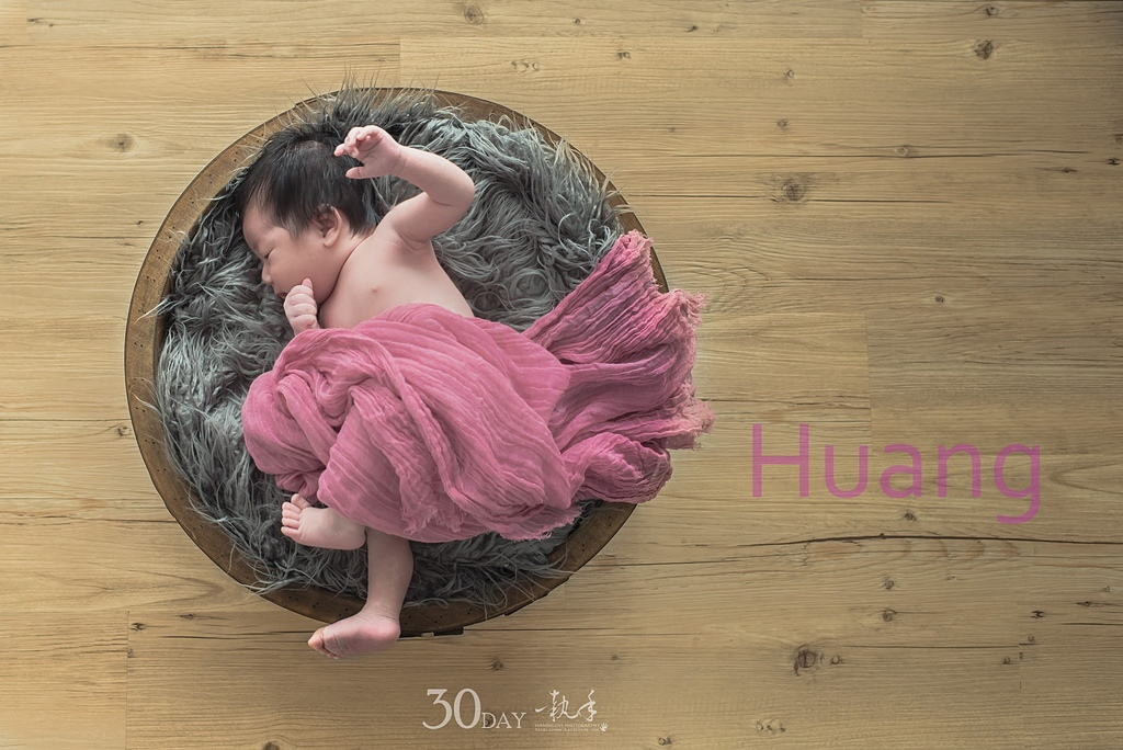 高雄百天寶寶攝影