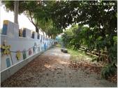 【彰化。大村】平和社區,雙心池塘,愛心造景小公園:小公園