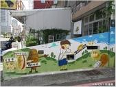 【台中。西區】動漫彩繪巷:甜點彩繪