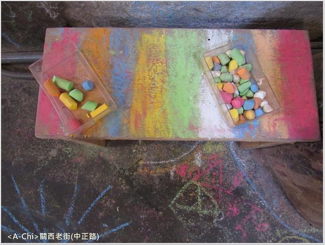 老2.JPG - 【新竹。關西】石店尾藝術長廊彩繪牆,石店尾老街