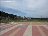 【新北。金山】水尾漁港景觀橋:橋前廣場