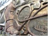 【新北。汐止】禮門里綠色廊道:水返腳意象圍牆