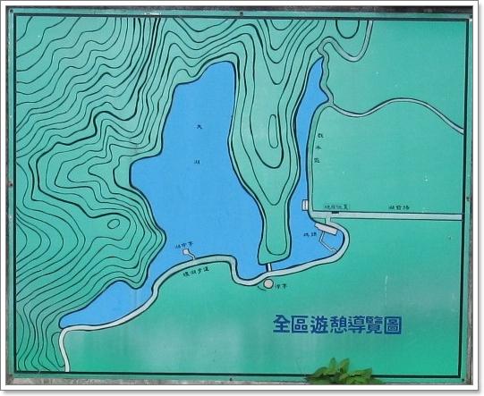 導覽圖 - 【宜蘭。員山】大湖風景遊樂區