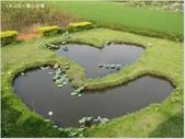 【彰化。大村】平和社區,雙心池塘,愛心造景小公園:雙心池塘