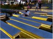 【台中。中區】新盛綠川水岸廊道:如琴鍵