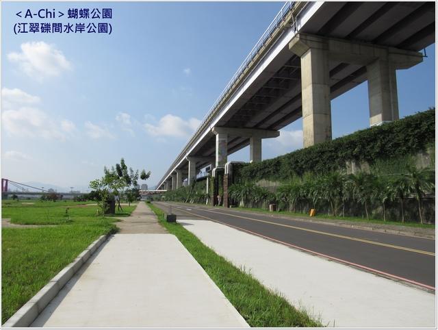 堤防步道 - 【新北市】板橋 蝴蝶公園(江翠礫間水岸公園)