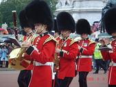 2008 英國:白金漢宮衛兵交接的樂隊