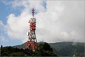 陽明山竹子湖:竹子湖入口處的廣播塔