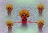 手作3.4mm糖果珠~筆套系列作品:3mm糖果珠(麵包超人)筆套作品.JPG