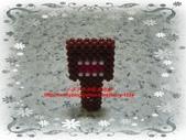 手作3.4mm糖果珠~筆套系列作品:3mm糖果珠(多摩君)筆套作品.JPG