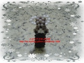 手作3.4mm糖果珠~筆套系列作品:3mm糖果珠(無尾熊)筆套作品.JPG