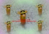 手作3.4mm糖果珠~筆套系列作品:3mm糖果珠(跳跳虎)筆套作品.JPG