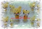 手作3.4mm糖果珠~筆套系列作品:3mm糖果珠(懶懶熊&巧虎)筆套作品.JPG