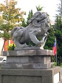 新竹市---北區:市議會前石獅(原新竹神社遺跡3)