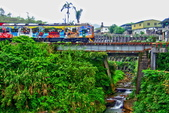 新北市---平溪區:平陽橋看小火車&嶺腳車站