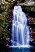 桃園市---復興區:庫志部落鐵木瀑布
