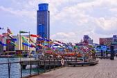 基隆市---仁愛區:海洋廣場2014彩繪鯉魚旗裝飾&洛克迷你馬
