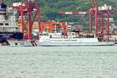 THE SHIPS WORLD 船舶世界:海巡署 CG105謀星艦 進港