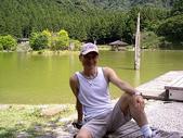 2007明池之旅:背景就是明池的湖畔