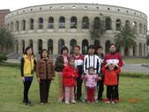 2011春假旅遊點~之4:CIMG5857台中霧峰私立亞洲大學校園--羅馬競技場(體育館).JPG