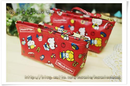 Hello Kitty防水萬用袋筆袋化妝包 NO474808.jpg - 2017手作物