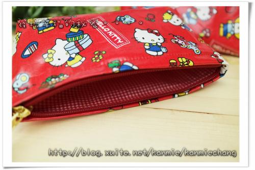 Hello Kitty防水萬用袋筆袋化妝包 NO474806.jpg - 2017手作物
