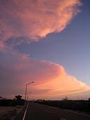 澎湖花羚民宿-我的作品集-澎湖寫真:民宿旁黃昏的美景