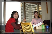2007日本京都大阪賞櫻之旅:Day2-飯店20樓3