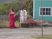 08.01.08五八車車又拋錨之綠光森林:碰巧還有人來拍結婚照呢