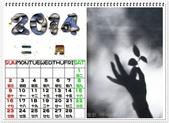 2014,月曆    photocap 6 製作:拈草-醉清風_本文引用來自作著拍出詩情畫意的美感.攝影Whack夢工廠