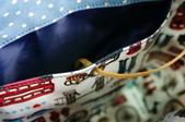 編織上手托特包:試著打個洞來抽線,使用感想。。。這比較適合不用渡線的作品哦~~