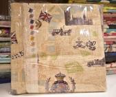 棉麻布:英倫風情。麻米色