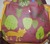 圖案防水布:森林裡的動物