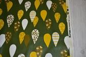 圖案防水布:熱氣球/森林綠