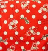 圖案防水布:哈囉!小紅帽/紅水玉